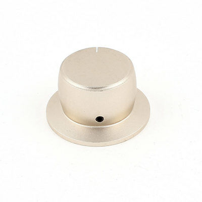38mm x 22mm Aluminium Alloy Volume Control Knob 6mm Hole for Guitar Amplifier