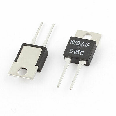 2Pcs KSD01F D30 TO-220 Thermostat Temperature Switch 30℃