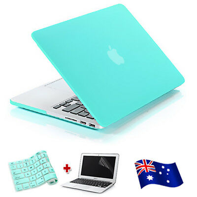 "Tiffany Blue Frosted Case Keyboard Cover For Macbook Air 11"" 13"" Pro Retina 12"""