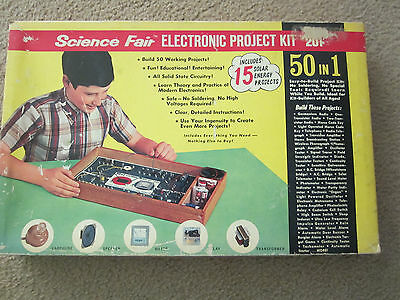 Science Fair 150 in 1 Electronic Project Kit Cat. No. 28-248 W/BOOK