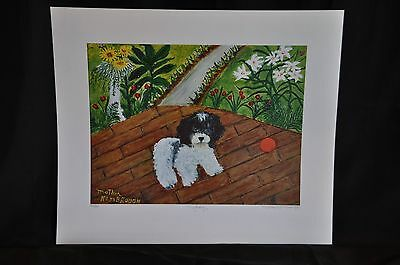 Mopsy Original Lithograph by Mother Kimbrough 110/500 Signed and Numbered
