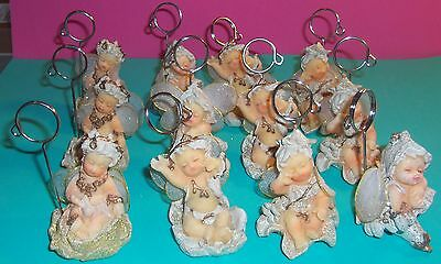 """{ 12 } """" SLEEPING FARIES """"PLACE CARD HOLDERS@ 4 ASSORTED STYLES @ NEW @"""