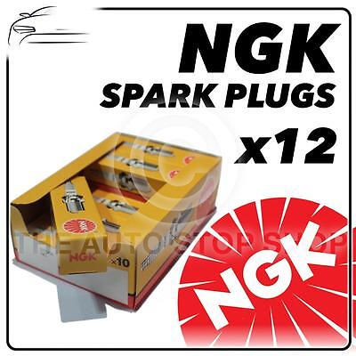 12x NGK SPARK PLUGS Part Number BUE Stock No. 2322 New Genuine NGK SPARKPLUGS