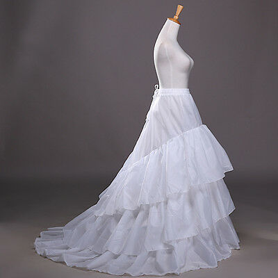 Sottogonna Abito Sposa con Coda- Petticoats for Wedding Dress - 250012