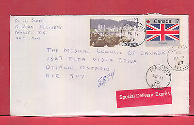 1979 $1.17 Special Delivery Exxpress Canada cover