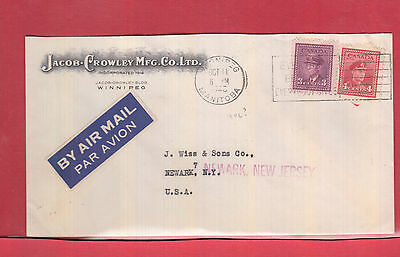 Jacob Crowley Co. front and back advertising colour Canada cover