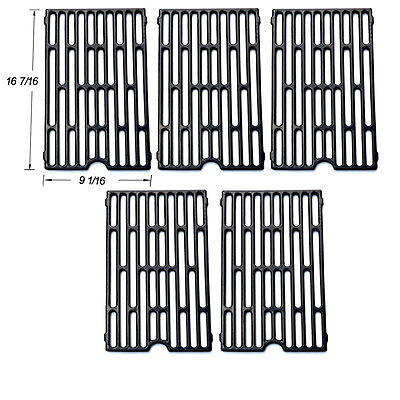 Vermont Castings BBQ Grill Porcelain Coated Cast Iron Cooking Grid SGX271-5pack