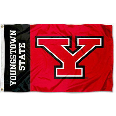 Youngstown State Penguins Flag Large 3x5
