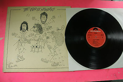THE WHO BY NUMBERS 1975 / MADE IN HOLLAND / No 66883 POST INCLUDED