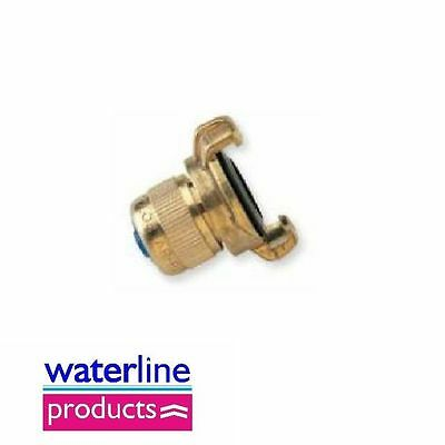 Hozelock Type Brass Fittings Hose Connector with Quick Coupler Hose Diam