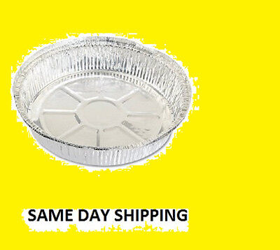 "7"" Aluminum Pans  W/ 7"" Foil Laminated Lids Qty. 100 Pieces"