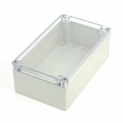 CF Waterproof Sealed Power Junction Box 200mmx120mmx75mm w Clear Cover