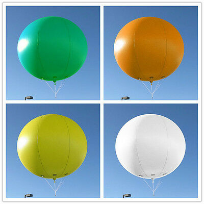 6.5ft 2m Inflatable Advertising Round Balloon/Flying Promotion Balloons/YR Logo