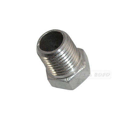 Male x Female Thread Reducer Bushing Pipe Fitting Stainless Steel SS 304 BSP