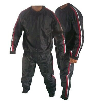 Sauna Suits Sweat Suit Heavy Duty Anti Rip Weight Loss Gym Suit