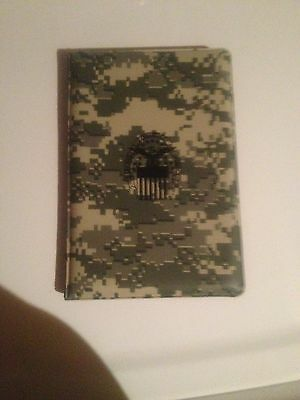 Pad holder, GSA Army vinyl cover pad with pen and pad. Defense Logistics