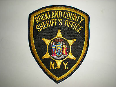 Rockland County, New York Sheriff's Office Patch