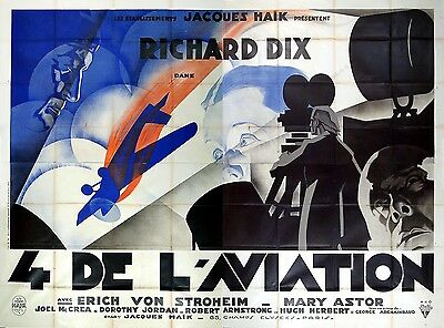 The Lost Squadron - Original French Poster - Very Rare