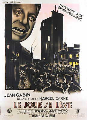 Le Jour Se Leve - Original French Poster - Very Rare