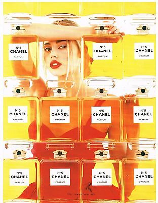 Publicité Advertising 1998 Parfum Chanel N°5