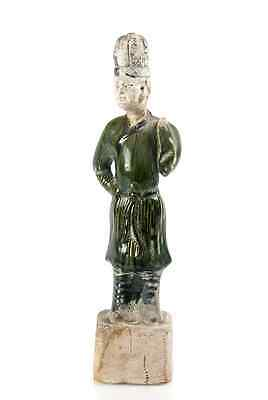 """Ancient Antique Chinese Song Dynasty 3 color Sancai terracotta Man 1100 AD 12"""""""