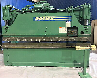 110 Ton x 12' Pacific Hydraulic CNC Press Brake Metal Forming Bending Machine