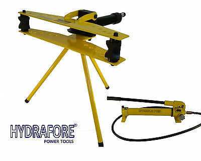 "Hydraulic Pipe Tube Bender with Separable Hand Pump (1/2"" - 2"") W-2F-MP"