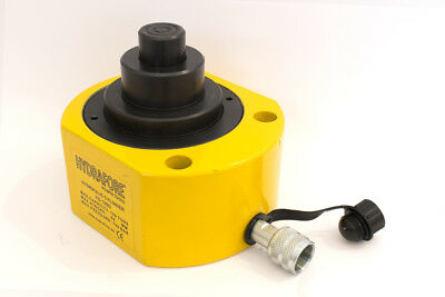 """100 ton 2.67"""" Multi stage Low Height 10000PSI Hydraulic Cylinder Jack Ram YG100D"""