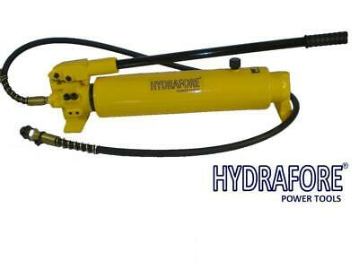 Hydraulic Hand Pump 2 speed Power Pack Hose Coupler (10000 psi - 165 in3) B-700A