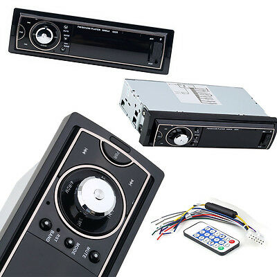Car Audio Stereo In Dash Fm With Mp3 Player USB SD Input AUX Receiver Remote KN