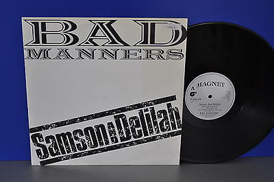 "Bad Manners Samson and Delilah UK '82 12"" Maxi Single Vinyl cleaned gereinigt"
