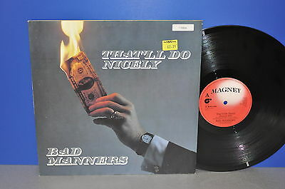"""Bad Manners That'll do nicely 12"""" Maxi Single UK '83 Vinyl cleaned gereinigt"""