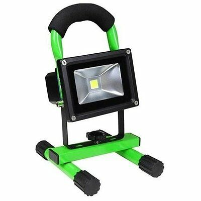 Portable Outdoor Camping Security 10W Rechargeable LED White Flood Light Lamp G