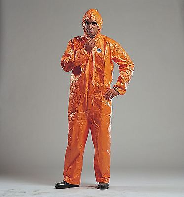 Tychem F Coverall - Standard Model - Protective Clothing - Size: XXL