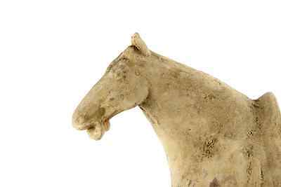 """Ancient  Antique Terracotta Chinese Tang Dynasty Statue of Standing Horse 18"""""""