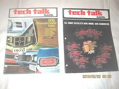 Ford Autolite and Ford Motorcrafft Tech Talk Vol. 2 No. 1  thru Vol. 6 No.3