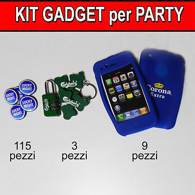 Kit per festa party 127 gadget cover iPhone spille spillette lucky lotto stock
