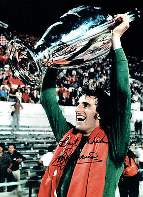 Ray CLEMENCE Signed Autograph 16x12 Photo AFTAL COA Liverpool Goalkeeper