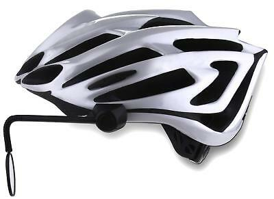 Cycle Aware Reflex Helmet Mirror Flexible Adjustable Bicycle Cycling Accessory
