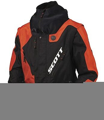 Scott Enduro Fahrerjacke MX Motocross Enduro Quad 350 NB Schwarz/Orange Neu