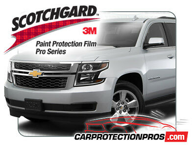 b0cbce942 2018 Chevrolet Suburban 3M Scotchgard PRO Clear Bra Bumper Paint Protection  Kit
