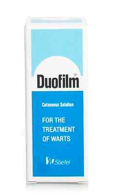 Duofilm Cutaneous Solution 15ml For The Treatment Of Warts Salicylic/Lactic Acid