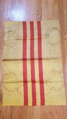 Arvn South Vietnam Us Army Flag Souvenir W/ Soldier Signatures 100% Original