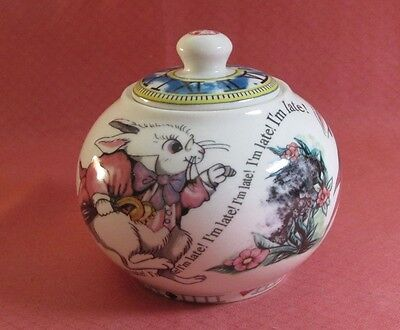 """PAUL CARDEW ALICE IN WONDERLAND MAD HATTER'S TEA PARTY I""""M LATE SUGAR BOWL"""