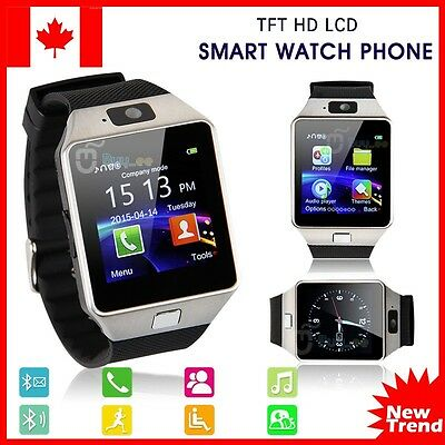 Smart Wrist Watch SIM Phone Mate Bluetooth Camera For iOS Android Phone