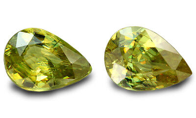 2.29 Carats Natural Sphene Loose Gemstone - Pear