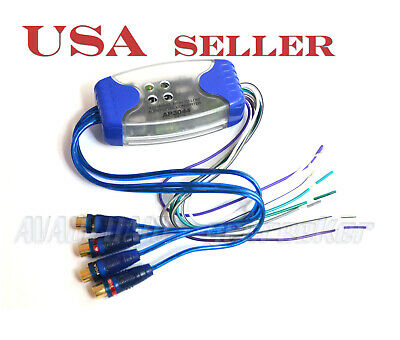A4A NY Ship Four Channel Ground Loop Isolator Audio Curciut Noise Filter 4 RCA