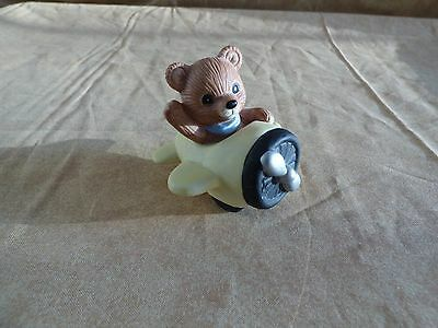HOMCO Home Interior Bears Riding in Airplane # 1463 ~ FAST SHIPPING!!