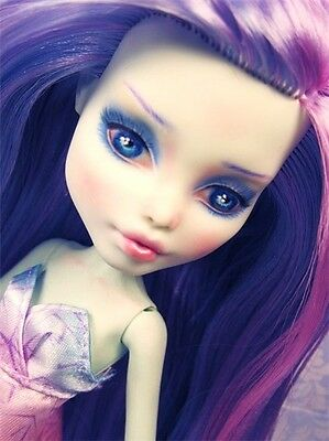 Monster High Doll Repaint Tutorial Learn How To Watercolor Pencils Paint Pastels