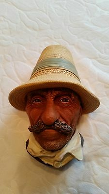 """""""Rumanian""""; Bossons Head, Made in Congleton England, Hand Painted"""